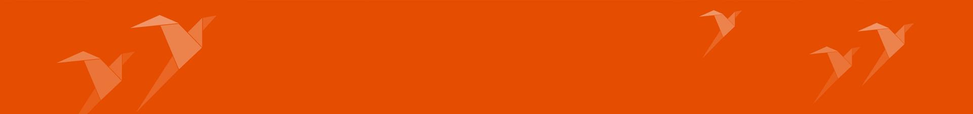 oranger Hintergrund mit Teamworks-Logo
