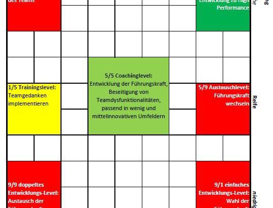 Organisationsentwicklungsreife-Modell