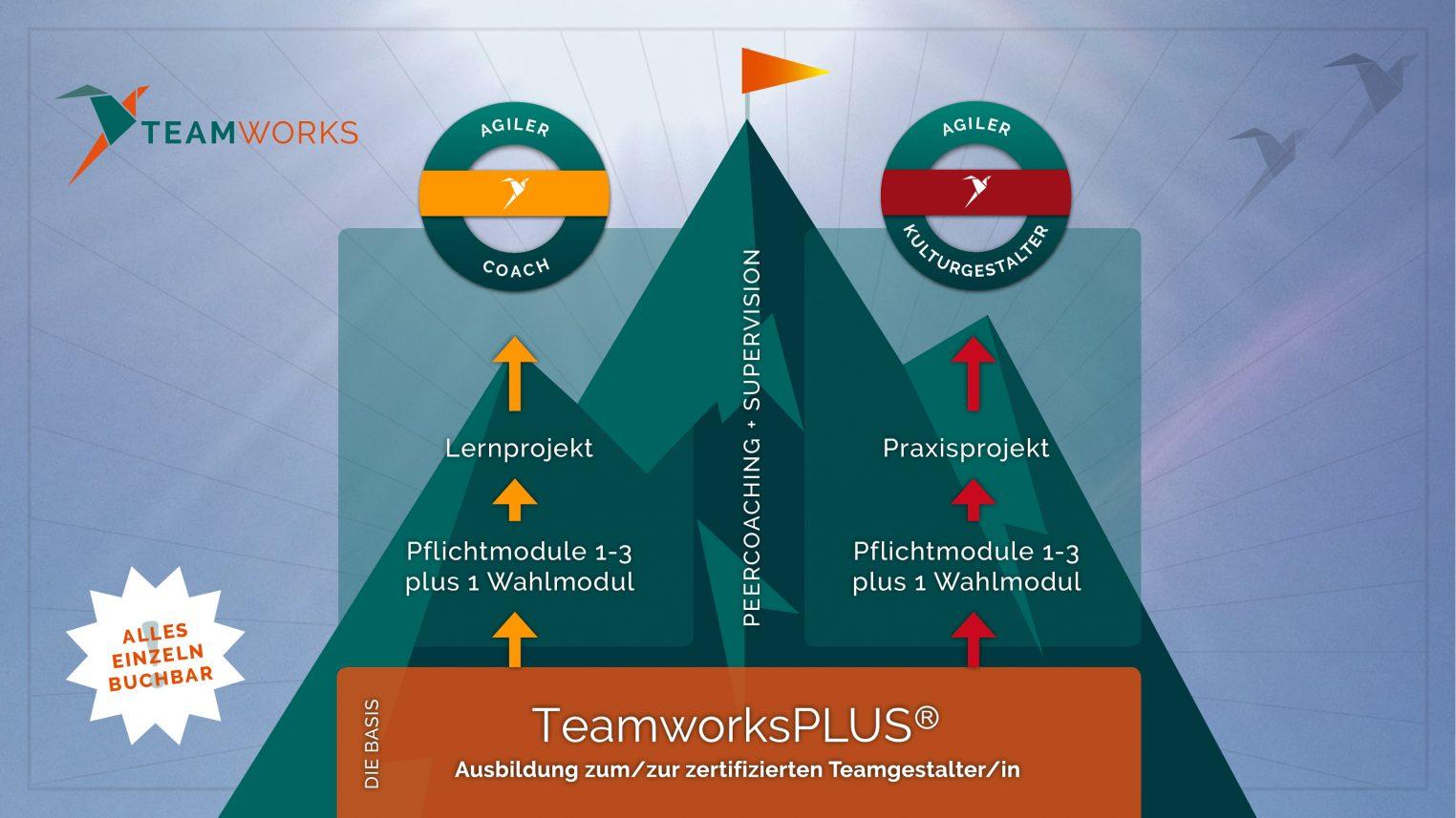 Das Teamworks-Ausbildungssystem