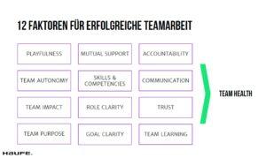 12 Faktoren Teamperformance